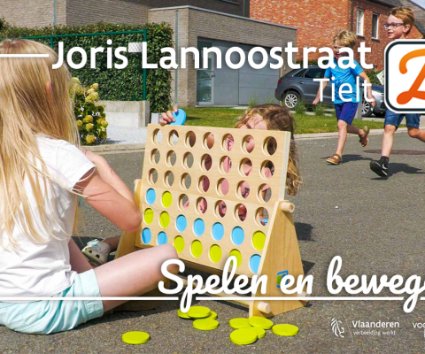 Zomerstraat in beeld: spelletjesroute in Tielt